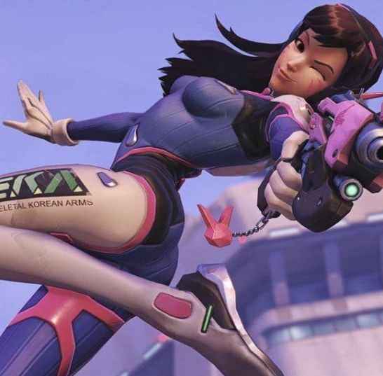 d.va overwatch shooting star
