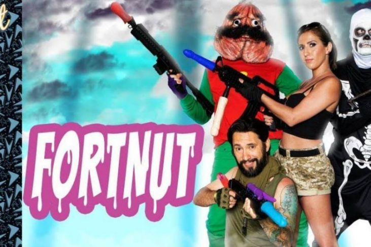 fortnut parodia hard fortnite