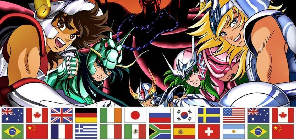 nazionalità dei Cavalieri dello Zodiaco
