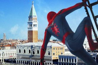 Spider-Man: Far from home a venezia