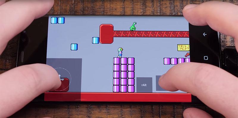giochi da floppy disk su uno smartphone