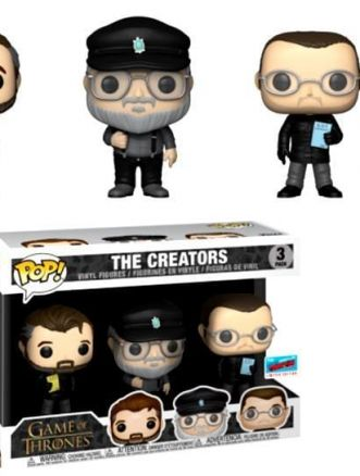 Funko Pop dei creatori di Game of Thrones