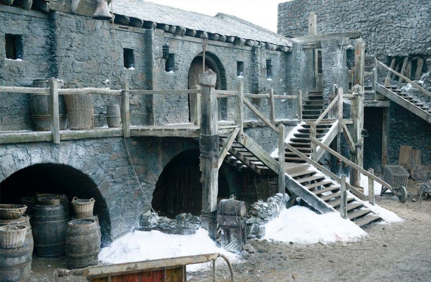 Grande Inverno Game of Thrones set