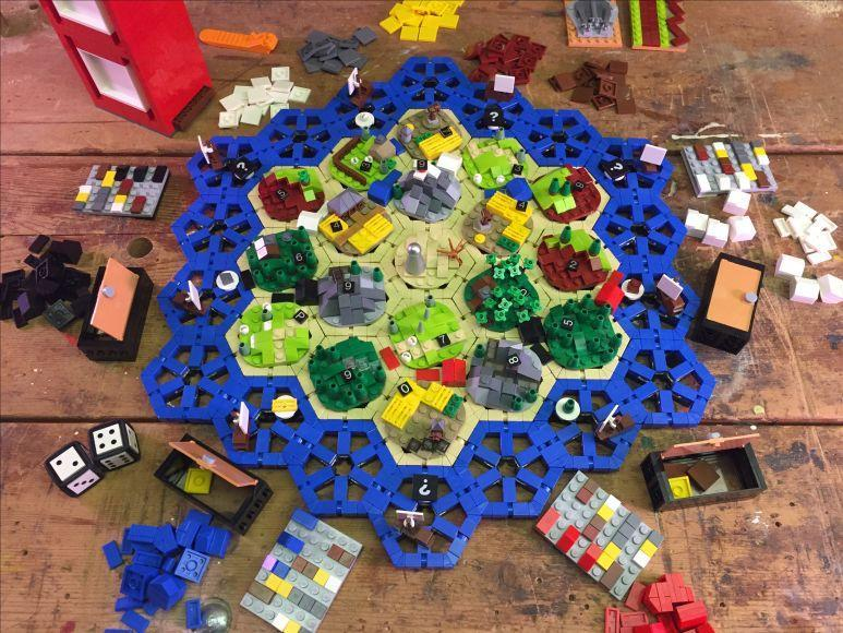 I Coloni di Catan di LEGO