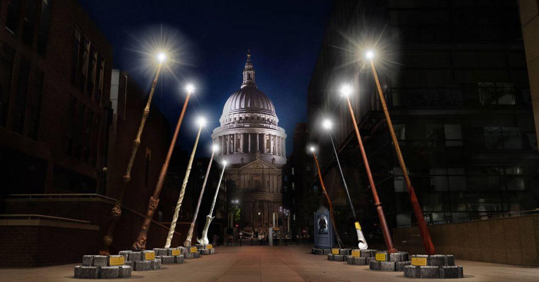 Londra i lampioni diventeranno delle bacchette magiche