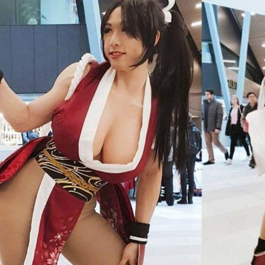 cosplay di Mai Shiranui