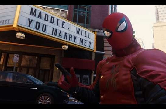 proposta di matrimonio in Marvel's Spider-Man