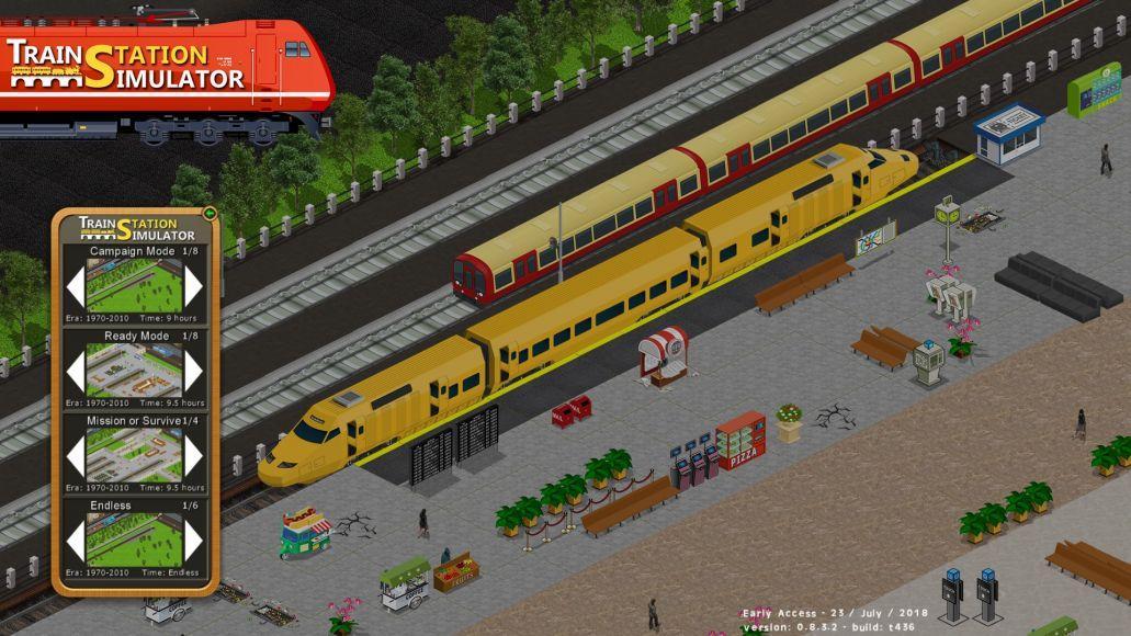 TRAIN STATION SIMULATOR 1