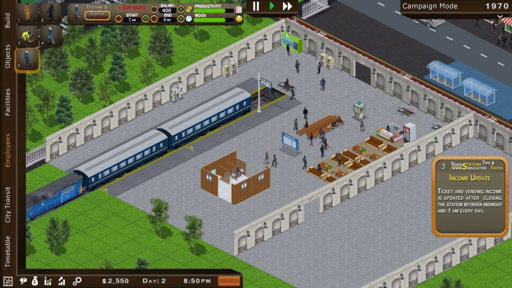 TRAIN STATION SIMULATOR 2
