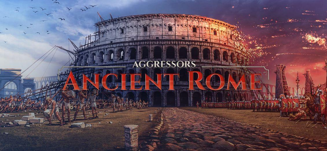 aggressor ancient rome cover
