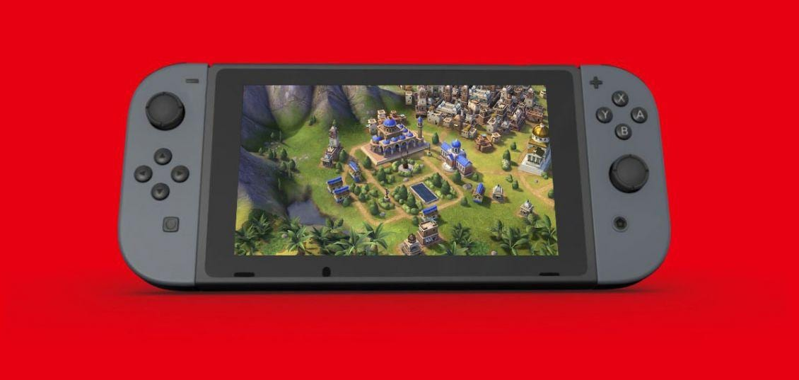 Civilization 6 è pronto ad approdare su Nintendo Switch