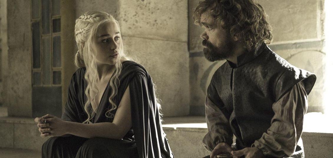 Tyrion Lannister e Daenerys Targaryen