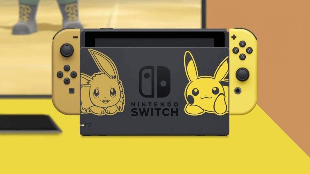 limited edition di nintendo switch pokémon let's go