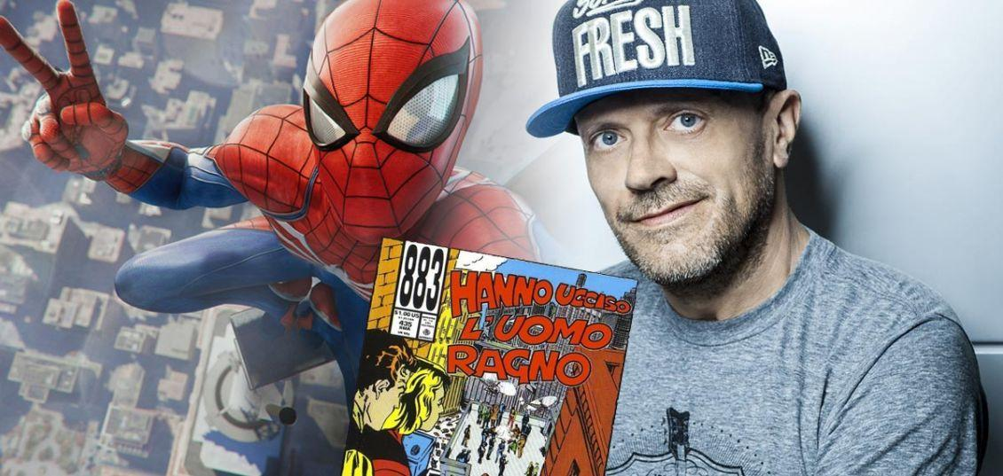 easter egg degli 883 in spider-man PS4