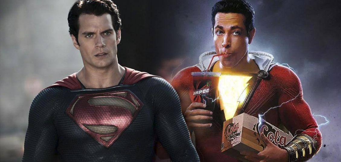 cameo di superman in shazam