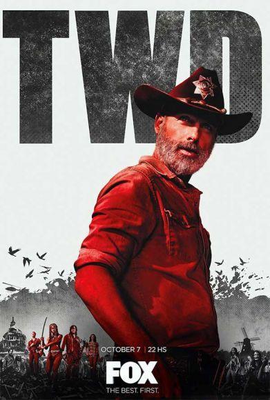 poster ufficiale di The Walking Dead 9