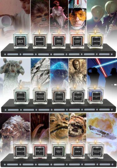 Candele profumate di Star Wars