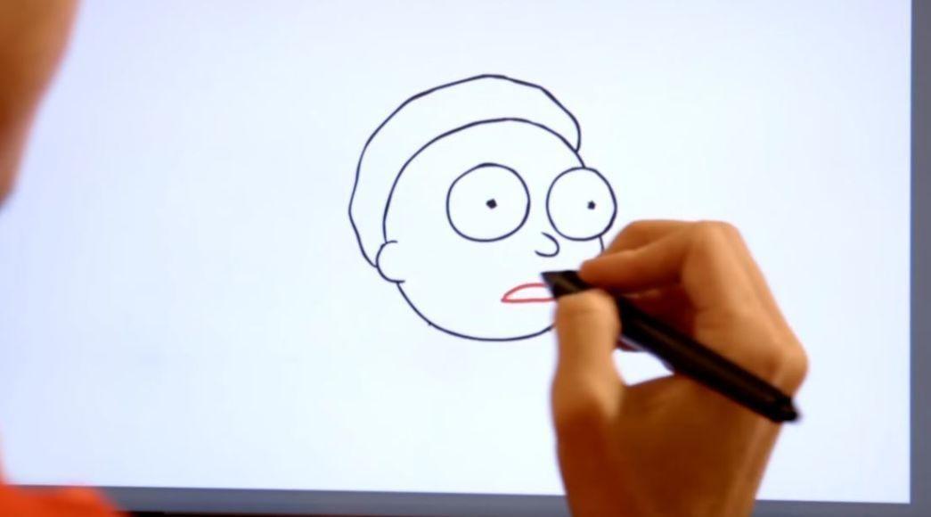disegnare rick e morty