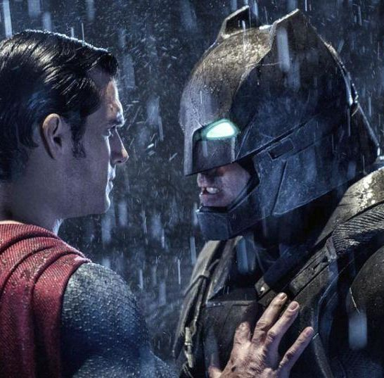 Ben Affleck e Henry Cavill batman vs superman