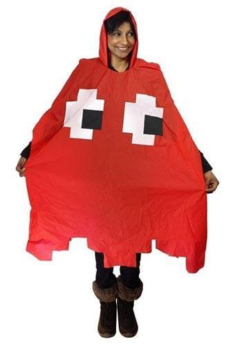 mantellina pac-man gadget nerd contro la pioggia