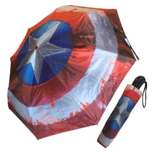 ombrello captain america gadget nerd contro la pioggia