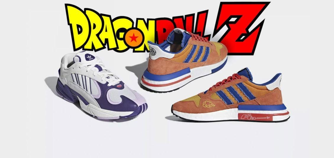 scarpedi Dragon Ball Z firmate Adidas