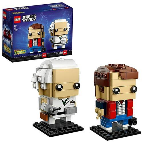 Lego Brickheadz Marty McFly e Doc Brown