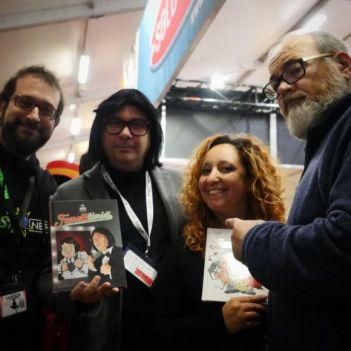 Lucca Comics and Games 2018 Ruggero de I Timidi saldaPress