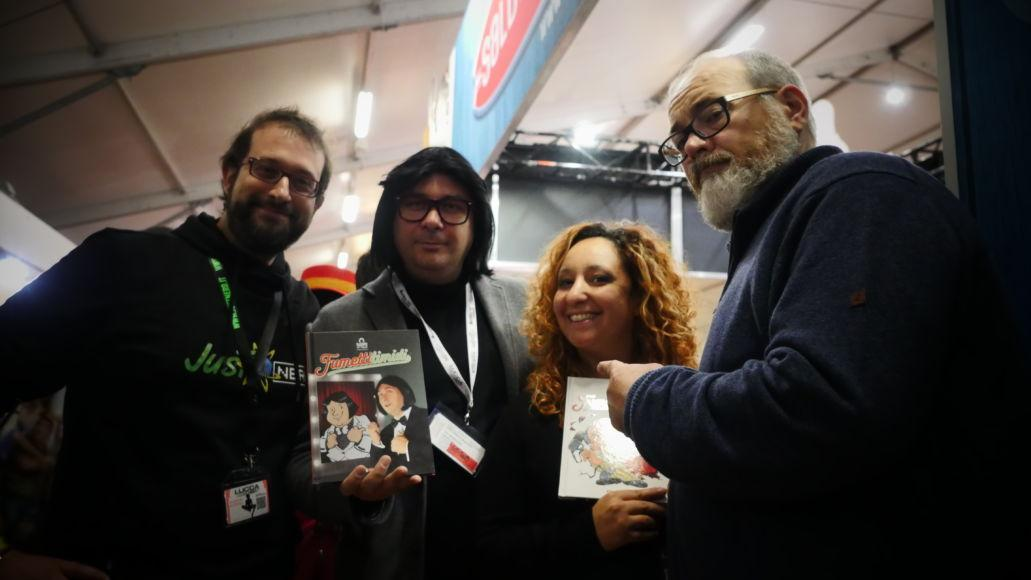 Lucca Comics and Games 2018 Ruggero de I Timidi saldaPress
