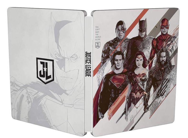 Steelbook Mondo Justice League