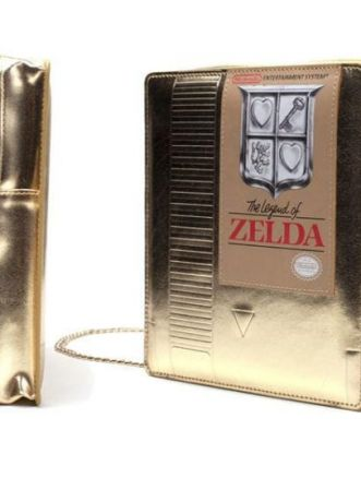 borsetta dorata di zelda
