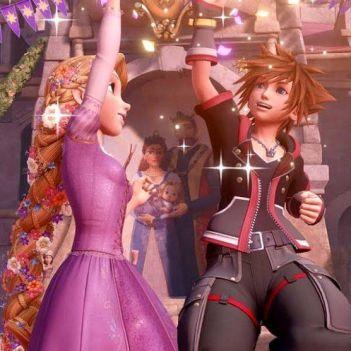 kingdom hearts III rapunzel