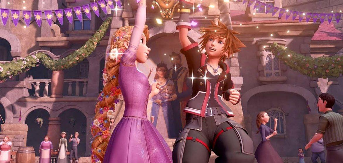 kingdom hearts III rapunzel