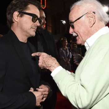 robert downey jr stan lee