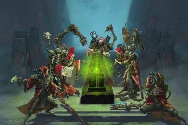 warhammer: 40k mechanicus cover
