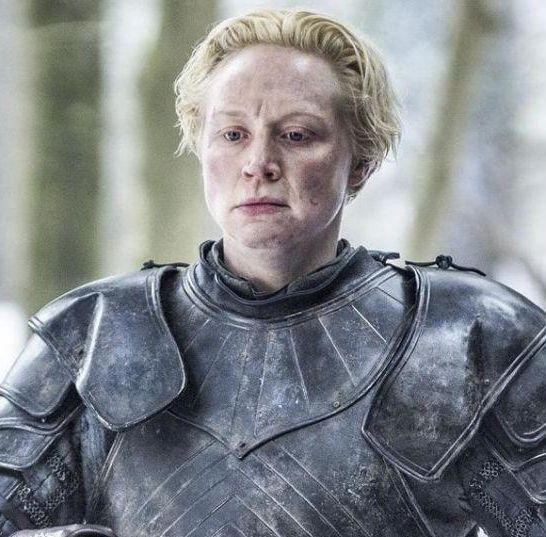 Gwendoline Christie Brienne di Tarth game of thrones