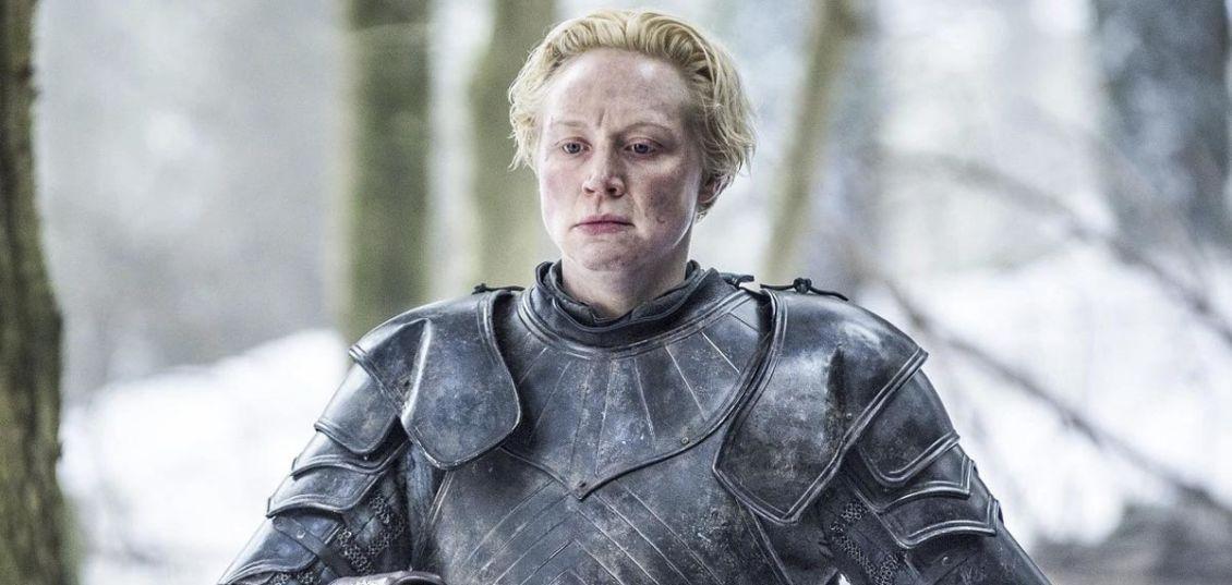 Gwendoline Christie Brienne di Tarth game of thrones