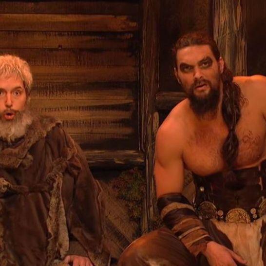 Jason Momoa Khal Drogo SNL