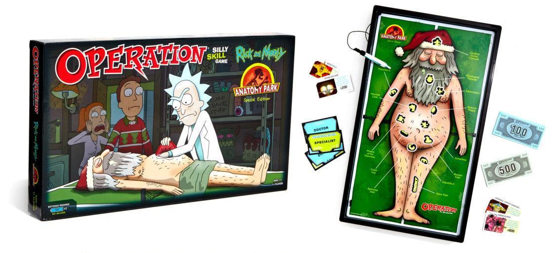 L'Allegro Chirurgo di Rick e Morty