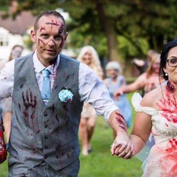Matrimonio a tema The Walking Dead