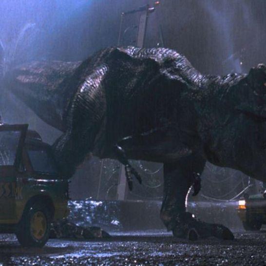 T-Rex di Jurassic Park