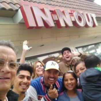 Tom Hanks Fast Food
