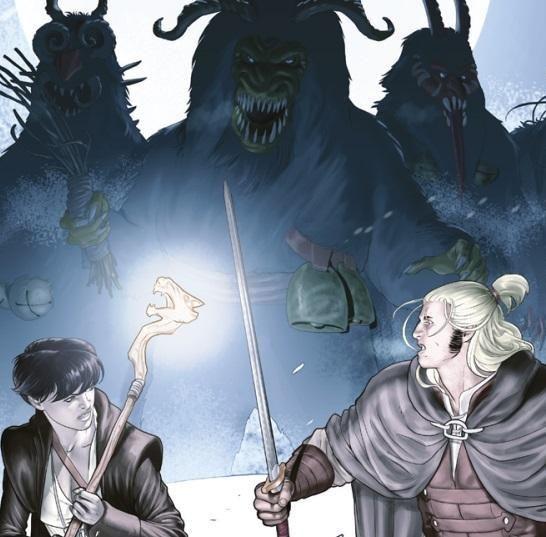 dragonero: il demone sotto la pelle cover