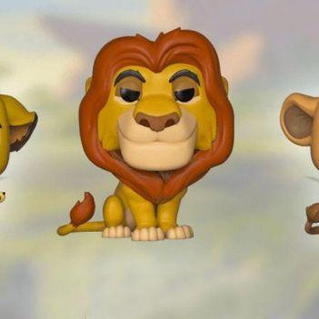 funko pop del re leone