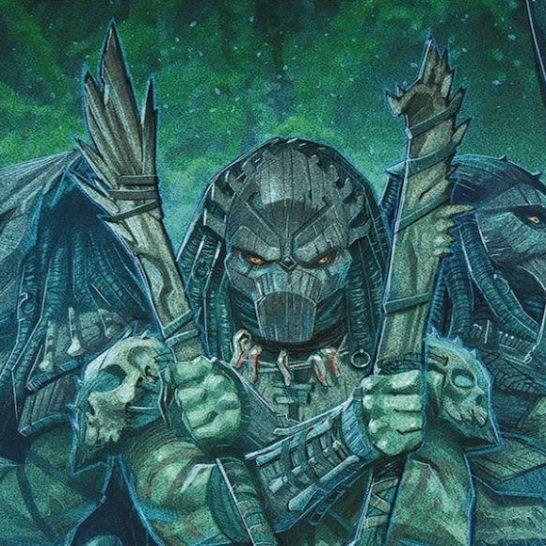 predators: cacciatori cover