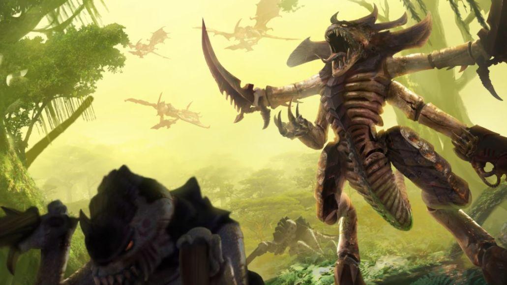 warahmmer 40k: gladius - tyranids cove