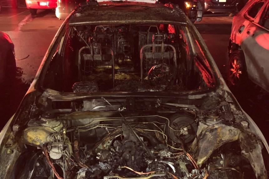 Anime Los Angeles incendio auto