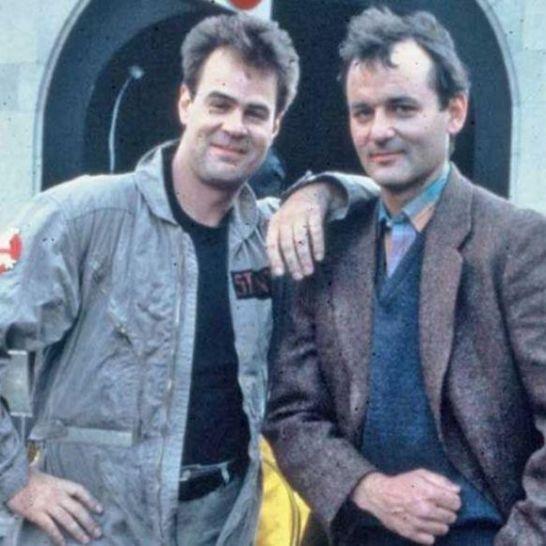 Bill Murray e Dan Aykroyd Ghostbusters