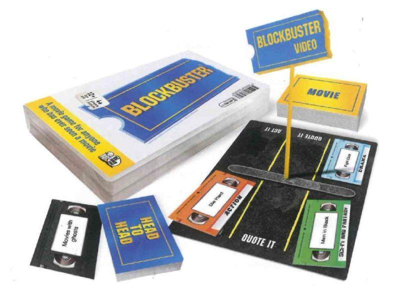 Blockbuster the game