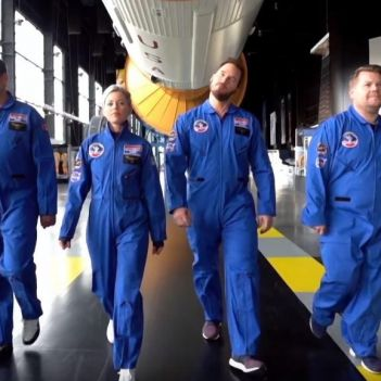 James Corden Space Camp
